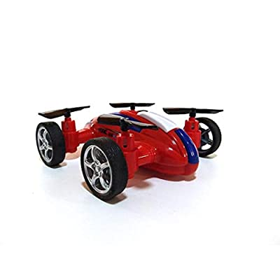 makalar Bulges Quadcopter Drone Flying Car , Durable Children Remote Control Inertia Toy Car Mode Push & Pull Toys: Toys & Games