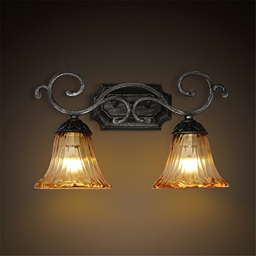Industrial Vintage Wall Sconces to Cape Town in Europe Retro Glass Bathroom -