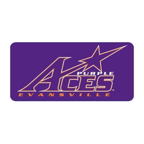 Evansville Medium Magnet 'Purple Aces Official Logo' by CollegeFanGear