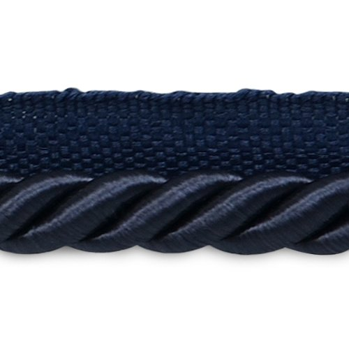 Expo International Hilda 3/8-Inch Twisted Lip Cord Trim, 20-Yard, Navy Blue by Expo International Inc.
