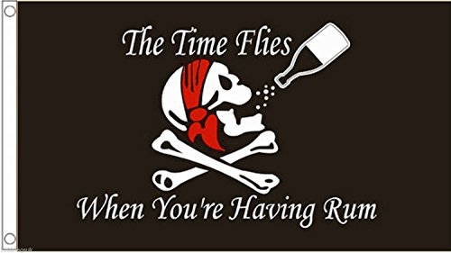 Pirate Skull & Crossbones The Time Flies When You