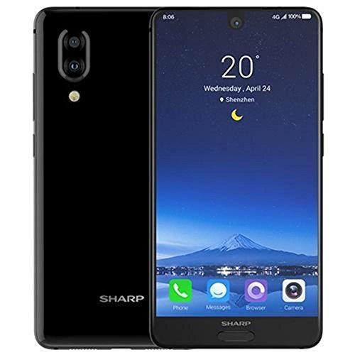 Price comparison product image Sharp AQUOS S2 (FS8010) 4GB / 64GB 5.5-inches Dual SIM Factory Unlocked - International Stock No Warranty (Black)