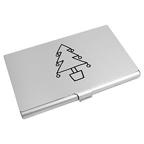 'Christmas Azeeda Wallet Card Holder Credit Business Tree' Card CH00011042 dPrcPH