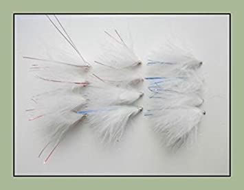 Fishing Flies Cats Whiskers 12 Pack Mixed Patterns Trout Flies Size 10