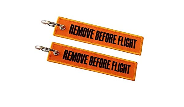 Moto Discovery Remove Before Flight Llavero Doble Cara ...