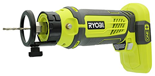 Ryobi P531 One+ 18V Cordless Speed Saw Rotary Cutter with Included Bits (Battery Not Included / Tool Only) (Saw Speed)