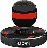 B4M OVL-Dark Black Levitating Bluetooth Speaker - Portable Floating & Rotating Wireless Speaker with Bluetooth 4.1 - Wireles