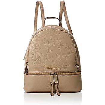 1bd449db29e35a Amazon.com: Michael Kors Womens Rhea Zip Backpack Handbag Beige ...