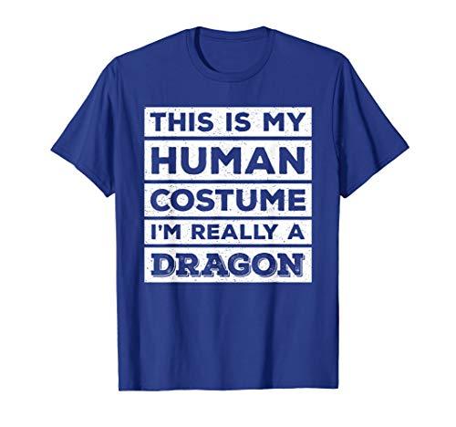 Dragon Fire T-shirt Breathing (Human Costume Dragon Fire Breathing Beast Wings T-Shirt)