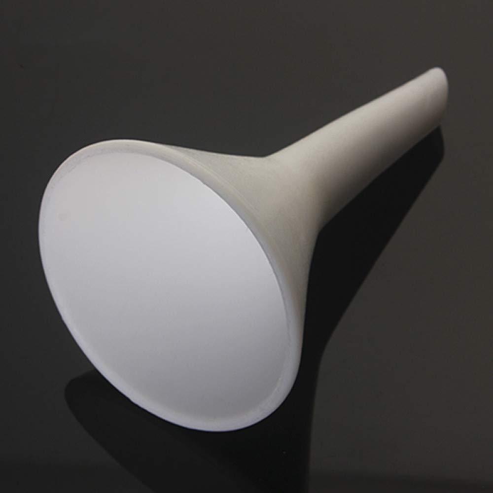 juler Glassware Labware Analytical Chemistry PTFE Triangle Funnel Diameter 52 80 105 160mm PTFE Triangle Funnel,White,105 Mm