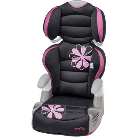 Evenflo Big Kid Amp Booster Car Seat, Carrissa ComfortTouch Adding Around the Head and Body For Sale