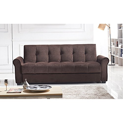 Houston Tufted Storage Futon Sofa Bed With Textured Linen  : 41mMocR7WTL from www.bestsofasonline.com size 500 x 500 jpeg 30kB