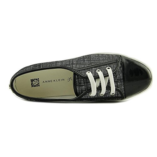 Anne Klein Ak Sport Donna Zagger Fashion Sneaker Nero / Bianco Multi Pelle