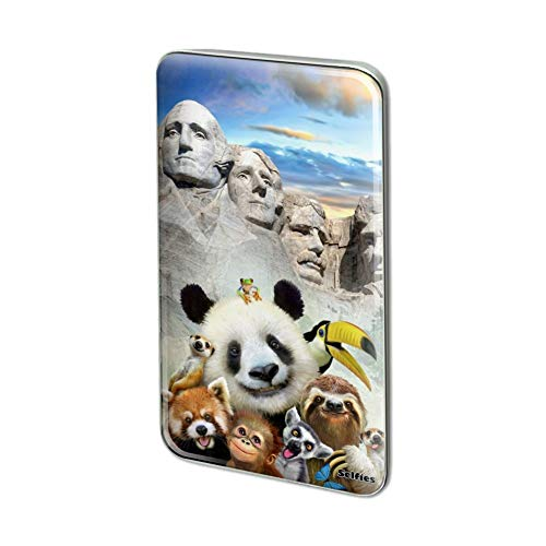Mt Rushmore Pin - GRAPHICS & MORE Mount Mt. Rushmore South Dakota Panda Rectangle Lapel Pin Tie Tack