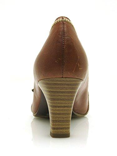 Tamaris Bombas De Cuero Zapatos De Tacón Zapatos Piel Zapatos Mujer Cuero 1899