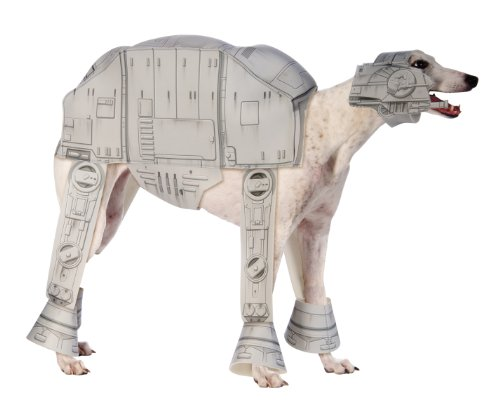 Star Wars At-At Pet Costume, Medium (Old Lady Costume With Dog)
