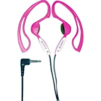 Sony MDR-J10 Headphones with Non-Slip Design (Pink) (Discontinued by Manufacturer)