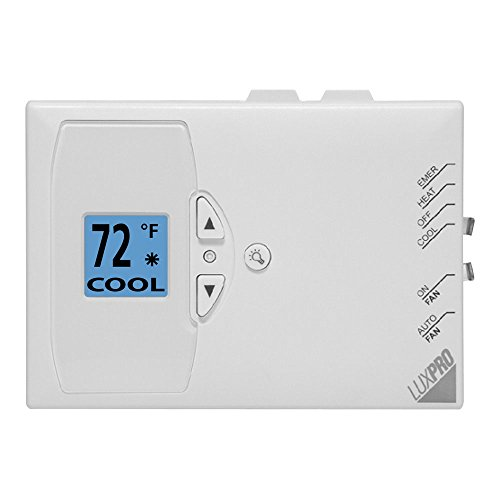 Digital Non Programmable Heat Pump Thermostat PSDH121 - Lux Digital Thermostat