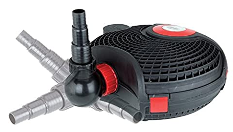 Alpine Corporation Extremely Energy Saving, Efficient Eco-friendly Magnetic Powering Pond and waterfall Pump 2800 GPH w/ 33ft. cord, in Protective cage comes with 3 Years (Alpine Pumps)