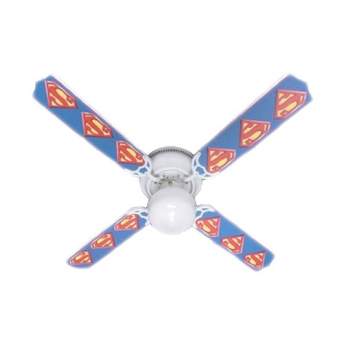 Ceiling Fan Designers Ceiling Fan, Superman Marvel Superhero, 42""