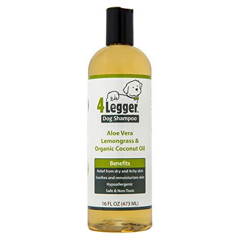 4-Legger Organic Shampoo with Aloe and Lemongrass
