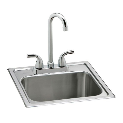 Elkay Neptune Top Mount Stainless Steel Bar Sink Set