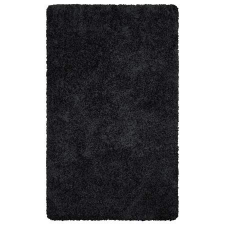 """Better Homes & Gardens Thick and Plush Nylon Bath Rug Collection, 20""""x34"""", Grey Shadow from Maples Industries Inc."""