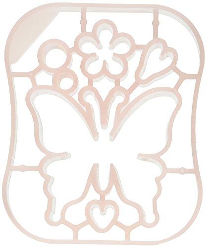 Clover Applique Mold Butterfly Design