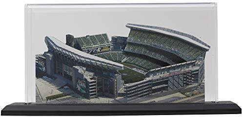Philadelphia Eagles 3D Replica Lincoln Financial Field w/Display Case