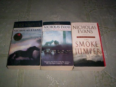 Nicholas Sparks - (Set of 3) - Not a Boxed Set (The Smoke Jumper - 2002 / The Horse Whisper - 1996 / The Loop - 1999)