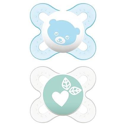 MAM - Chupetes Start Nanò Nature Guardian para bebés de 0 a 2 meses ...