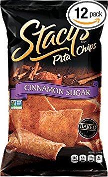 - Stacys Pita Chip Pita Lg Cinnamon Sugar