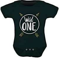 Tstars - Wild One Baby Boys Girls 1st Birthday Gifts One Year Old Baby Bodysuit