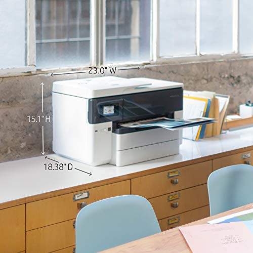 HP OfficeJet Wide Format All-in-One with & Printing, HP Instant Ink & Dash ready