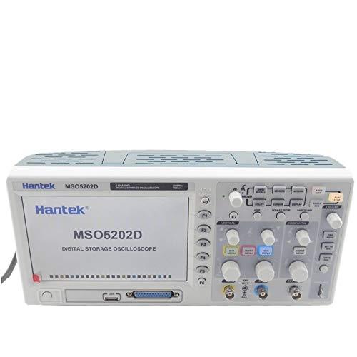 Oscilloscope & 16Channels Logic Analyzer 2in1 USB,800x480 Hantek MSO5202D 200MHz 1.8ns 2Channels 1GSa/s 1M
