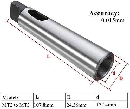 QINGRUI Lathe tools 1pcs MT1 MT2 MT3 MT4 MT5 Taper Adapter Reducing Drill Sleeve/Fit For Morse Taper Sleeve Shank Accessories Adapter Tools Accessories (Size : MT3 MT4)