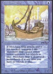 - Magic: the Gathering - Merchant Ship - Arabian Nights