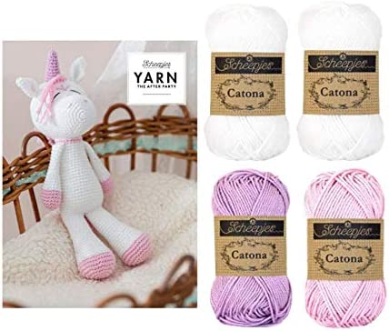 Kit Amigurumi Unicornio | Un Mar de Labores | 371x436