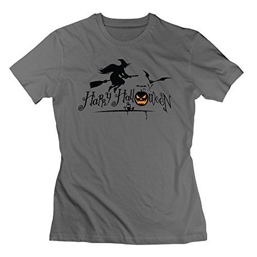 NCKG Women's Halloween Short Sleeve Shirts, Color DeepHeather Size XXL]()