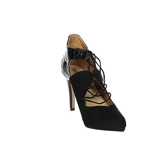 Mariamare 61832 Zapatos con Tacones Mujer Negro