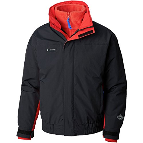 Columbia PNW Bugaboo 1986 Interchange Jacket - Men's Black/Red Spark, ()