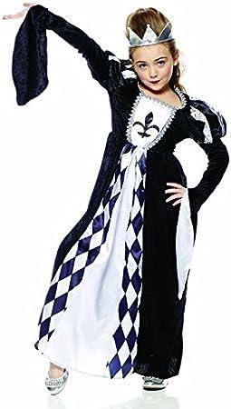 Rubies Intex – it30110-s Reina de los Cuadros Disfraz, Talla S ...