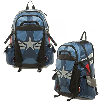 Captain America Suit Up Laptop Backpack