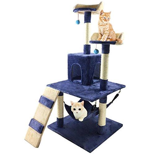 Pelay Cat Tree Condo Furniture Bed Pet Scratching Post Kitten House (M13)