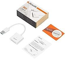 Alxum [2-en-1] Lector de Tarjetas de Memoria Mini USB 3.0 para SD ...