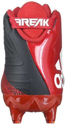 Adidas Freak X Karbon Midten Klamp Menns Fotball Svart / Hvit / Power Rød