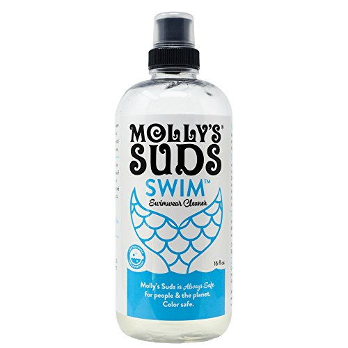 Molly's Suds Swimwear Cleaner, Chlorine Remover and Swimsuit Wash, 16 fl oz (Chlorine Remover For Swim Suits)