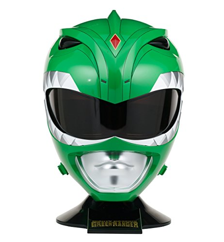 Power Rangers Mighty Morphin Legacy Ranger Helmet, Green]()