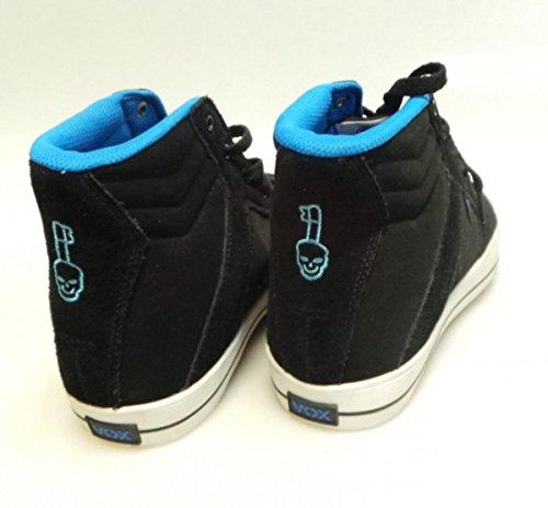Vox Skateboard Schuhe FootWear Vamp- Schwarz/Blau/Weiß