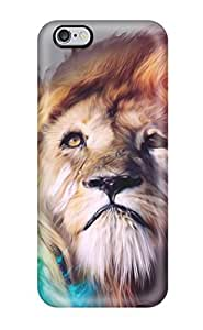 Fashion VMYQBcH4046gAsEQ Case Cover For Iphone 6 Plus(lion Abstract)